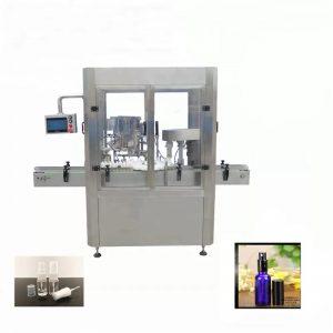 Makinë për mbushjen e shisheve me shishe alumini
