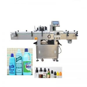 Makinë automatike e etiketimit të shisheve të dezinfektuesit