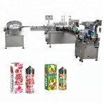 5-35 shishe / min Makinë automatike për mbushjen e lëngut për Dropper shishe qelqi 10ml / 30ml