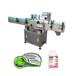 Makinë automatike për etiketimin e shisheve qelqi vertikale vertikale
