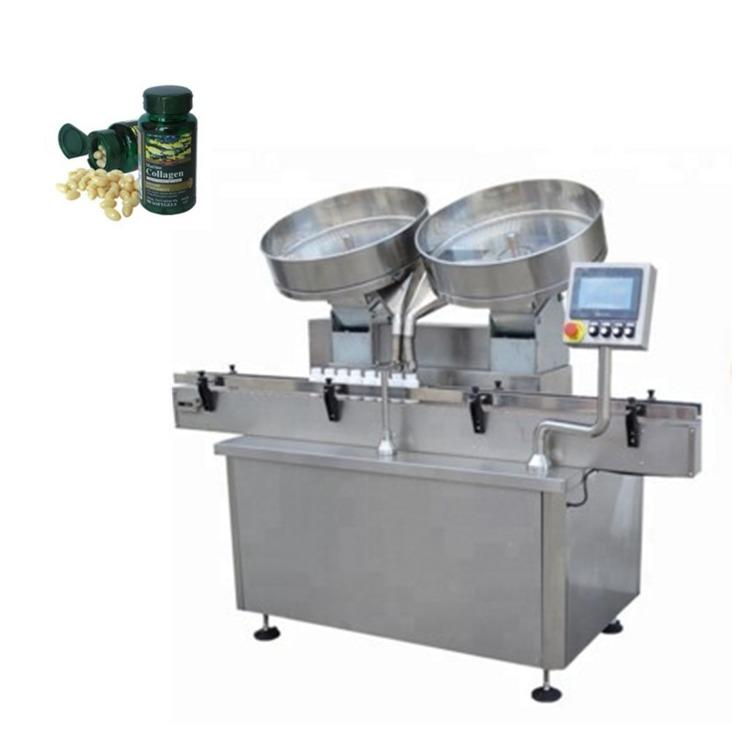 Tableta automatike të kapsulave të kapsulave të çelikut të pandryshkshëm, që numërojnë makinën mbushëse