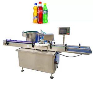 Makinë mbuluese e shisheve të drejtuar nga lloji elektrik