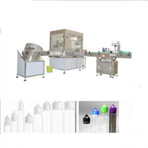 Makinë elektronike për mbushjen e lëngjeve me ndërfaqen e ekranit me prekje nga Siemens
