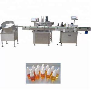 Makinë për mbushjen e vajit esencial të pompës peristaltike