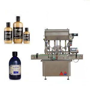 Makina mbushëse e lëngshme pneumatike 4 makine për lëng mjalti