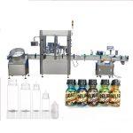 Makinë për mbushjen e shisheve Servo Motor Dropper, Makina e Parfumit të Parfumeve të Kontrollit të Ekranit me Prekje