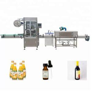 Makinë për etiketimin e shisheve me mëngë