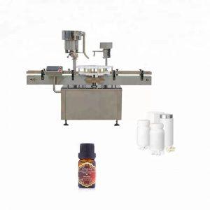 Makinë kapak shishe çeliku inox e përdorur në mjekësi