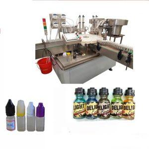 Makinë për etiketimin e ekranit me prekje për shishe të vogla